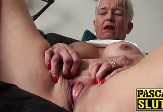 Messy Mature mega mega slut was waiting all day To be his Fuck fest Marionette
