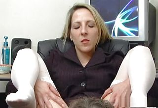 Extraordinaire Porno industry star Marie Madison In Best blowjob, platinum ash blondie Pornography clip