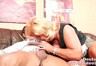 Big titted German mamma Sated