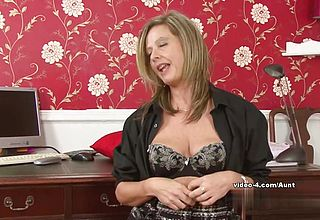 Impressive adult vid starlet in Supah super naughty Amateur, Mature adult Clip