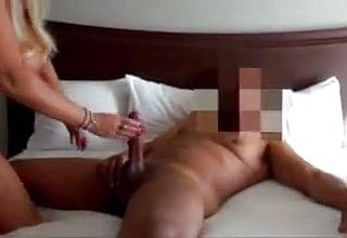 Milf Likes Thick ebony beef whistle in Front of her Husbanc