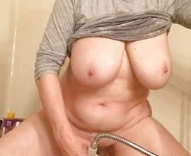 Granny masturbates and Shoots a geyser Like No Other By marierocks